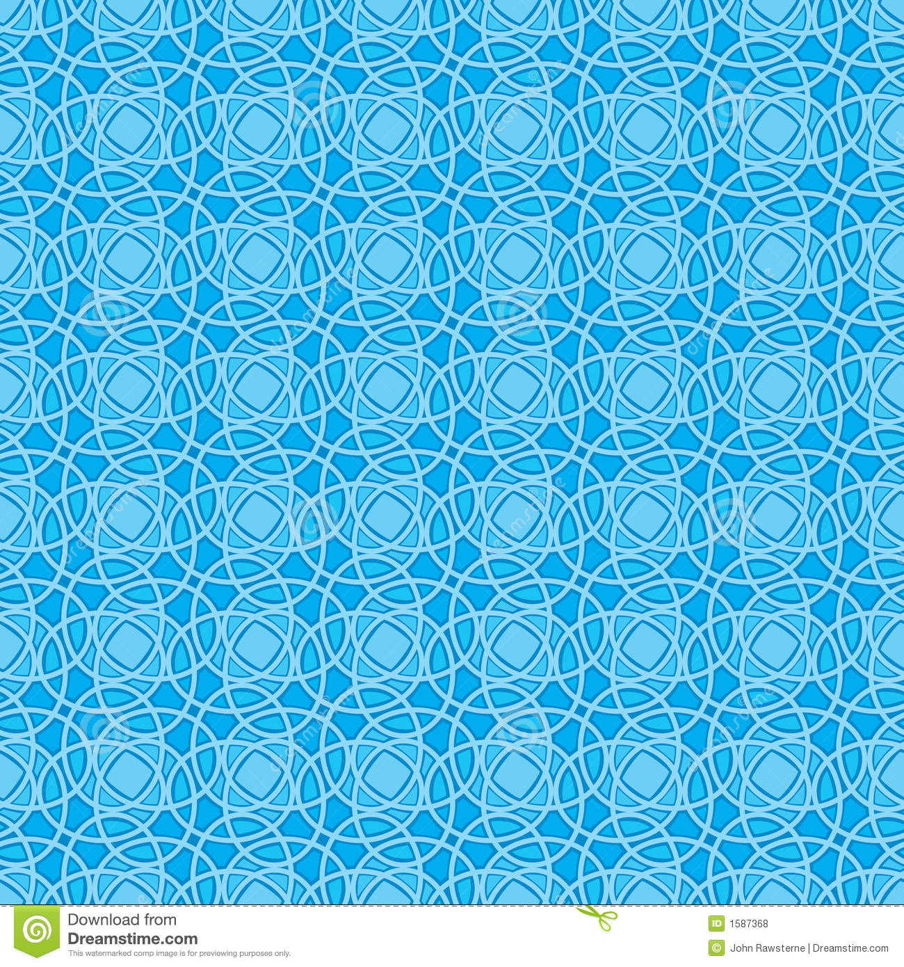 seamless wallpaper pattern in blue royalty free stock