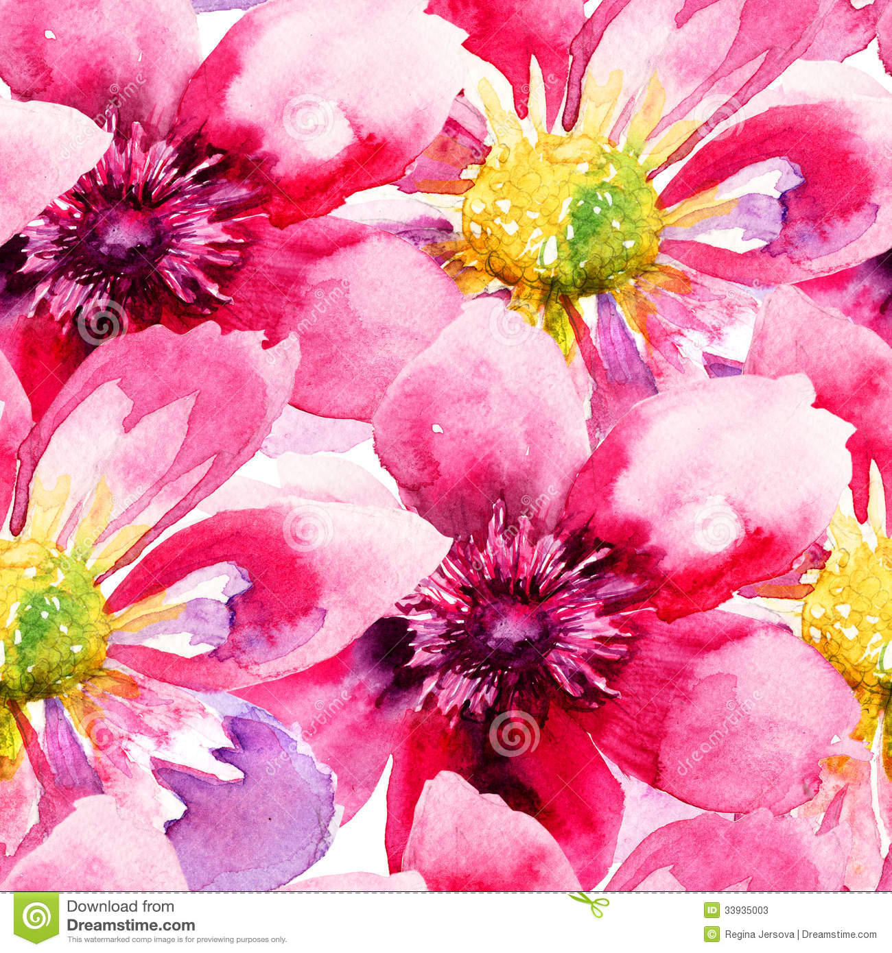 Seamless wallpaper with pink flowers stock illustration download seamless wallpaper with pink flowers stock illustration illustration of structure grunge 33935003 mightylinksfo