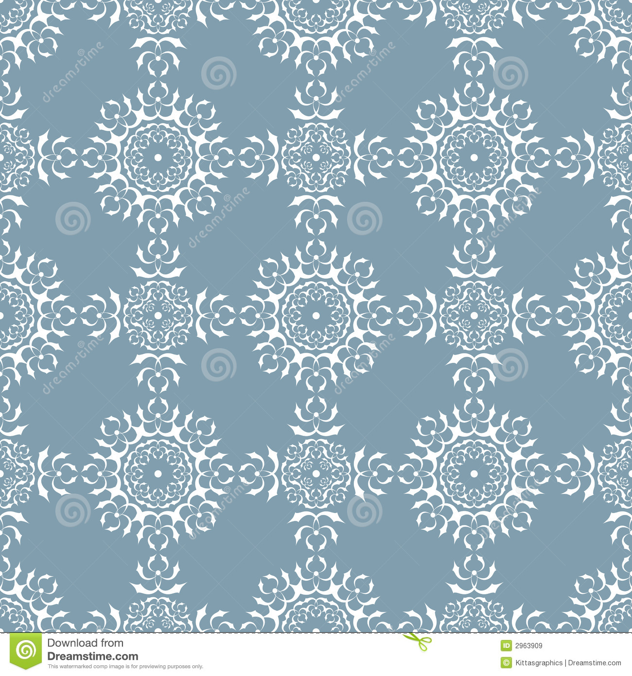 Seamless Wallpaper Tile Design Royalty Free Stock Images Image
