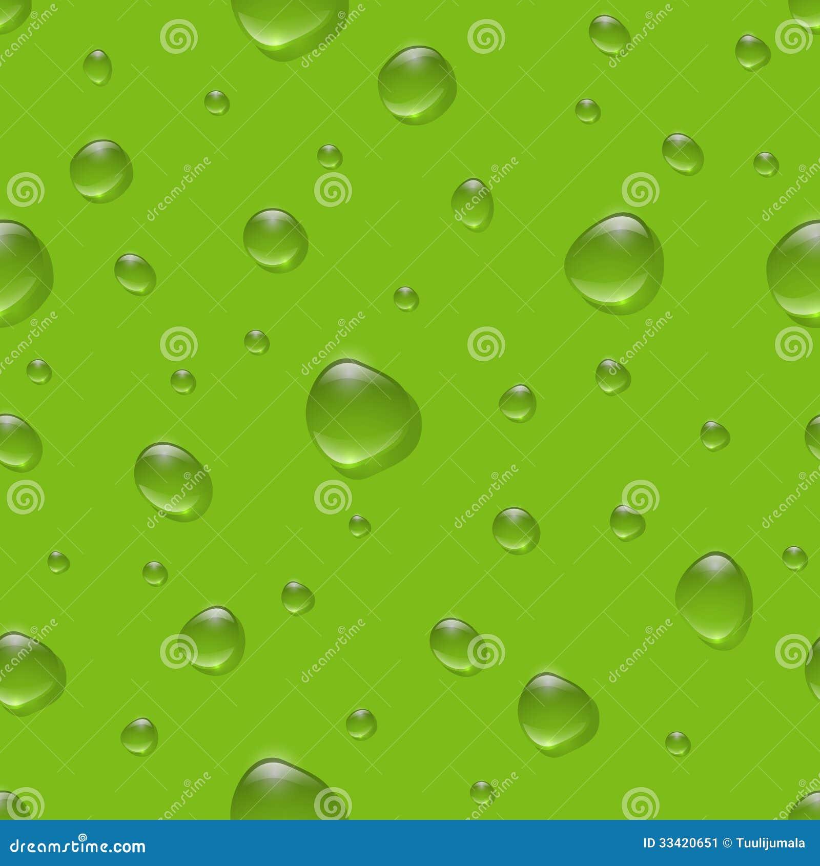 Seamless Water Drops P...