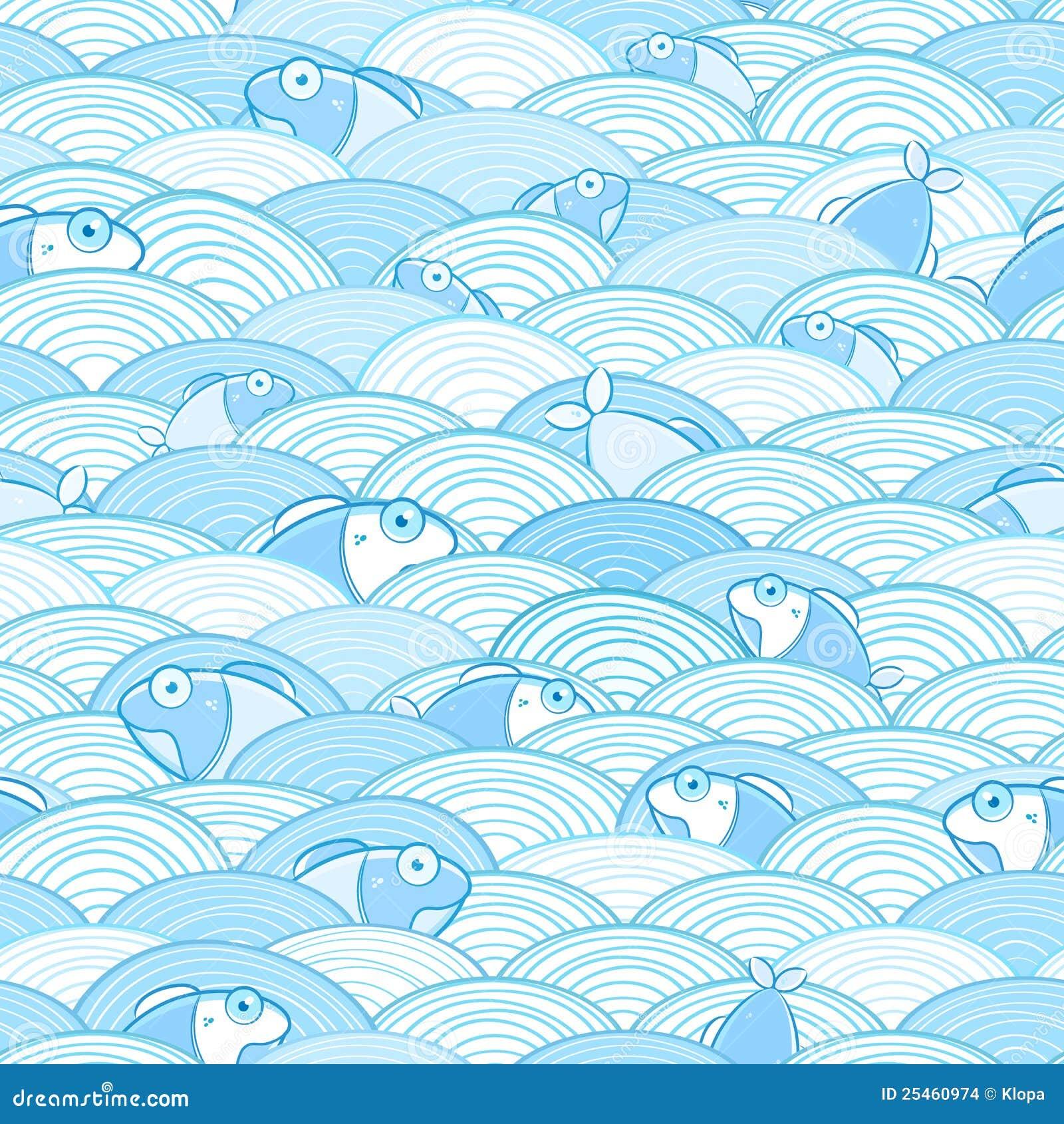 ocean fish wallpaper pattern - photo #20