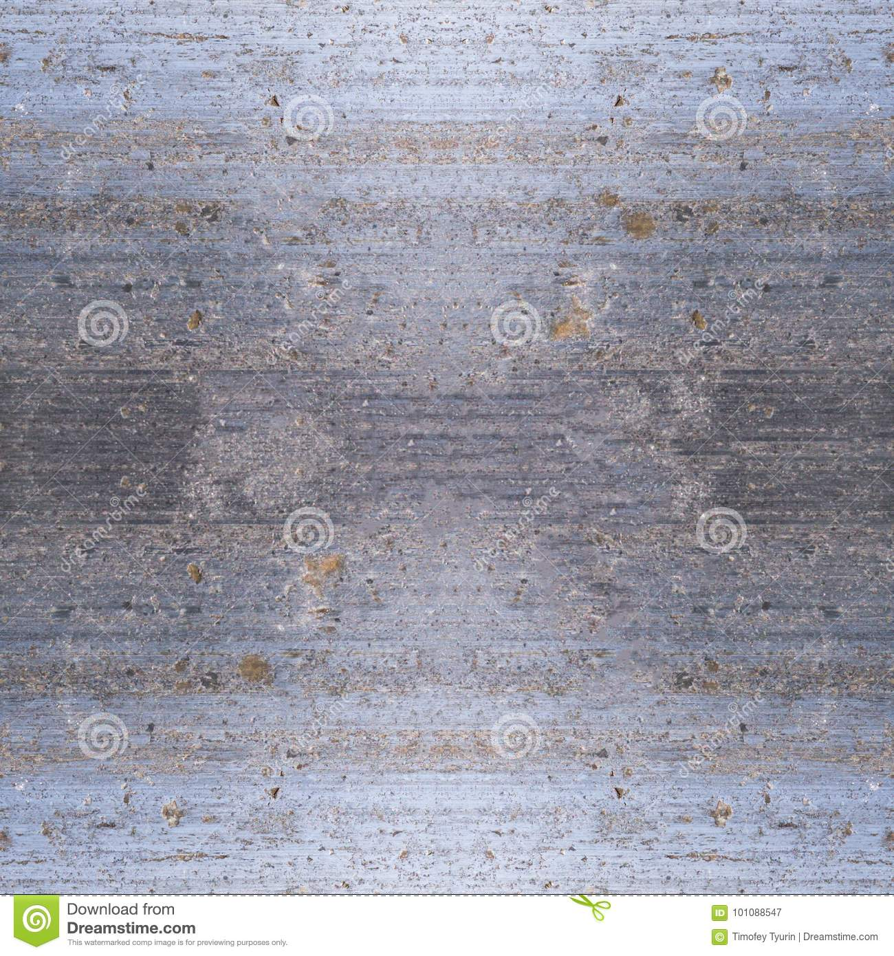 Seamless Metal Texture With Spots Of Rust Background Stock Image