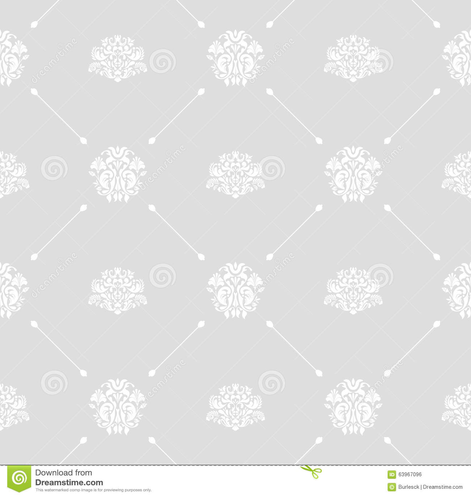Seamless Wedding Background Stock Vector
