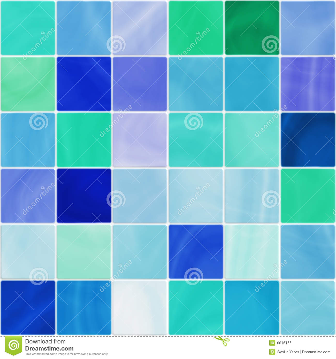 seamless white and blue bathroom tiles stock illustration