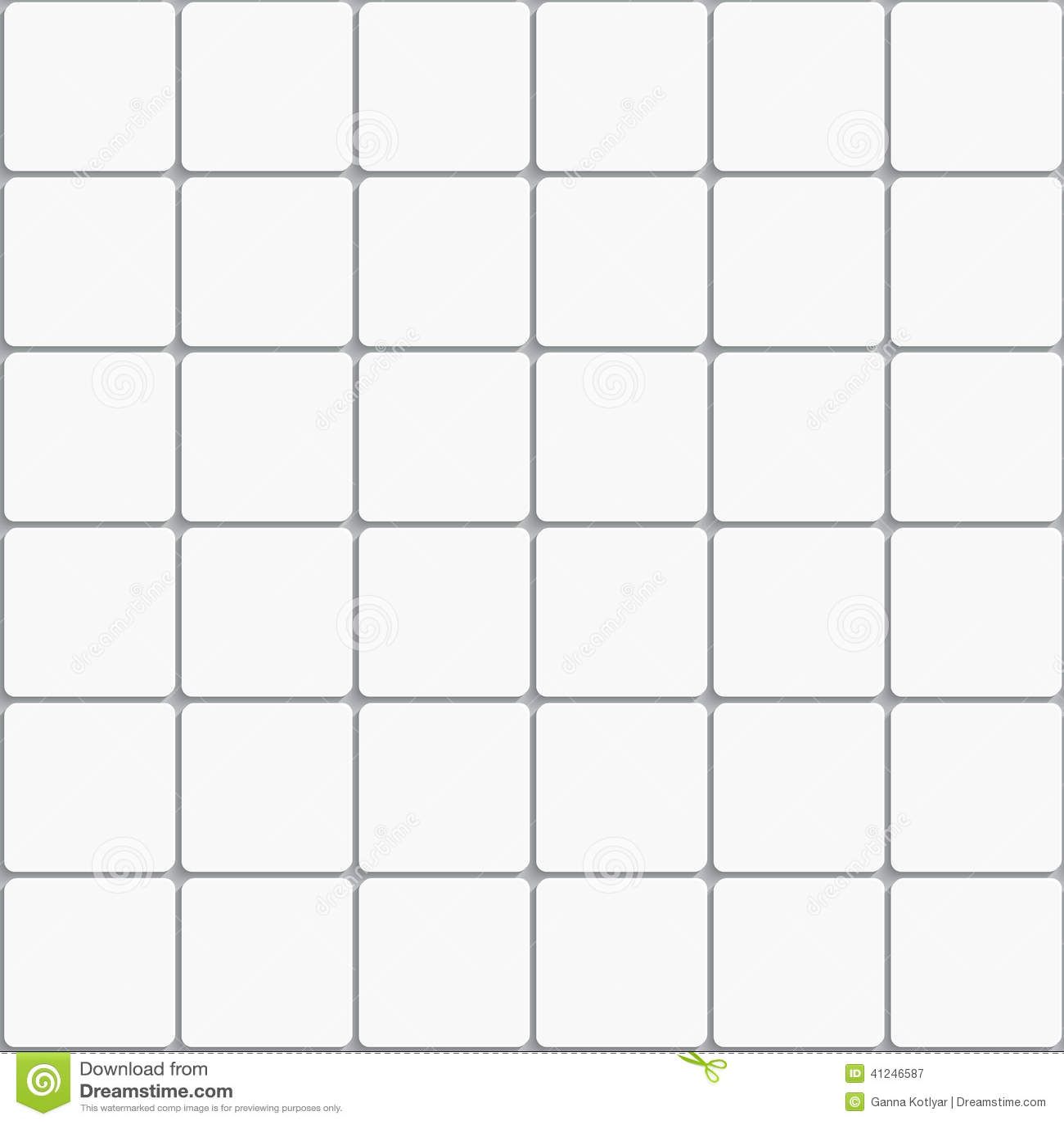 Backsplash Subway Tiles For Kitchen Seamless White Square Ceramic Tiles Background Stock