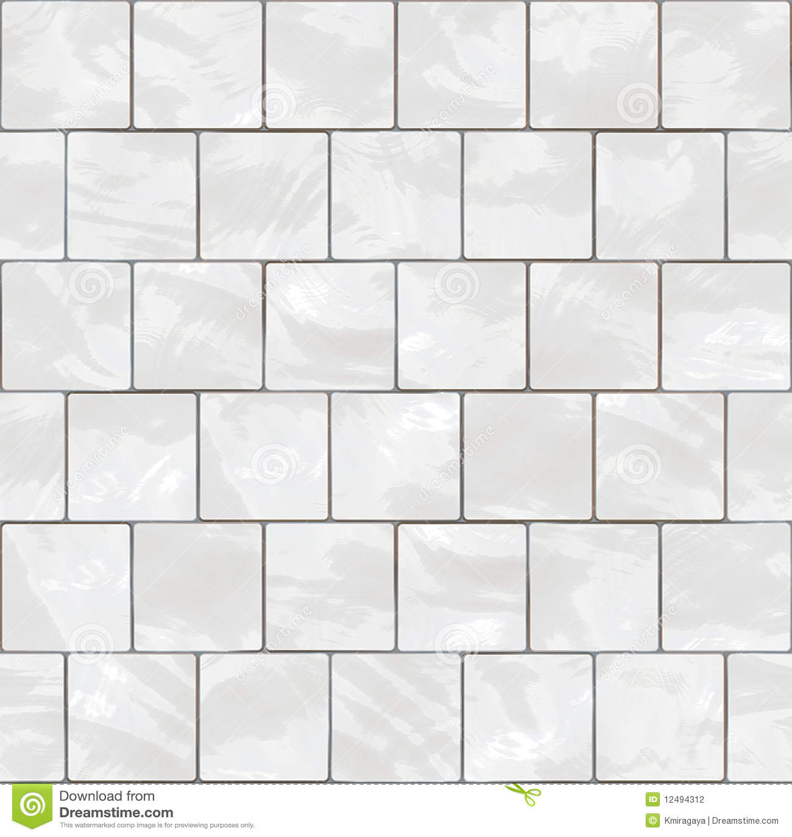 Seamless White Tiles Texture Stock Photography Image