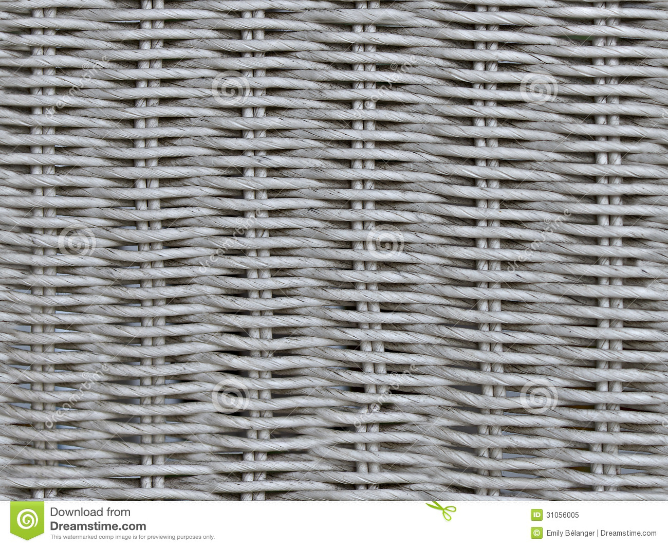 Seamless Wicker Weave Texture Stock Image Image Of