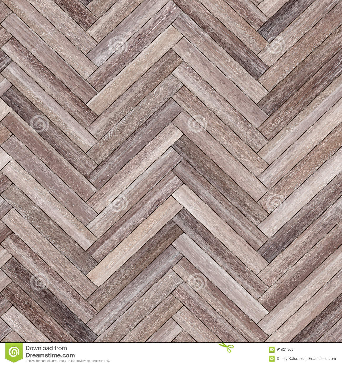 Seamless Wood Parquet Texture Herringbone Neutral Stock Image