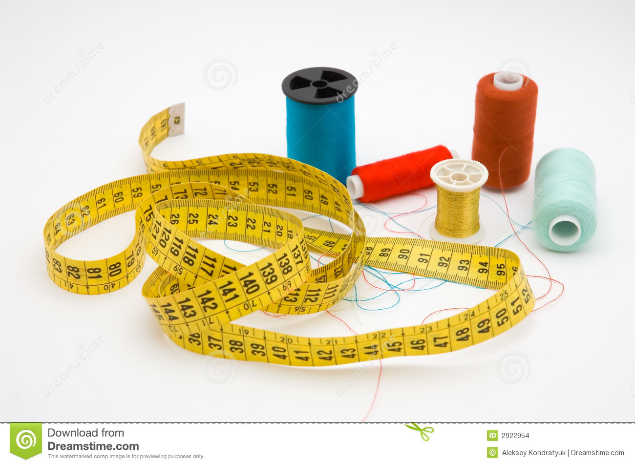 Seamstress tools stock photo. Image of ruler, cabbage ...