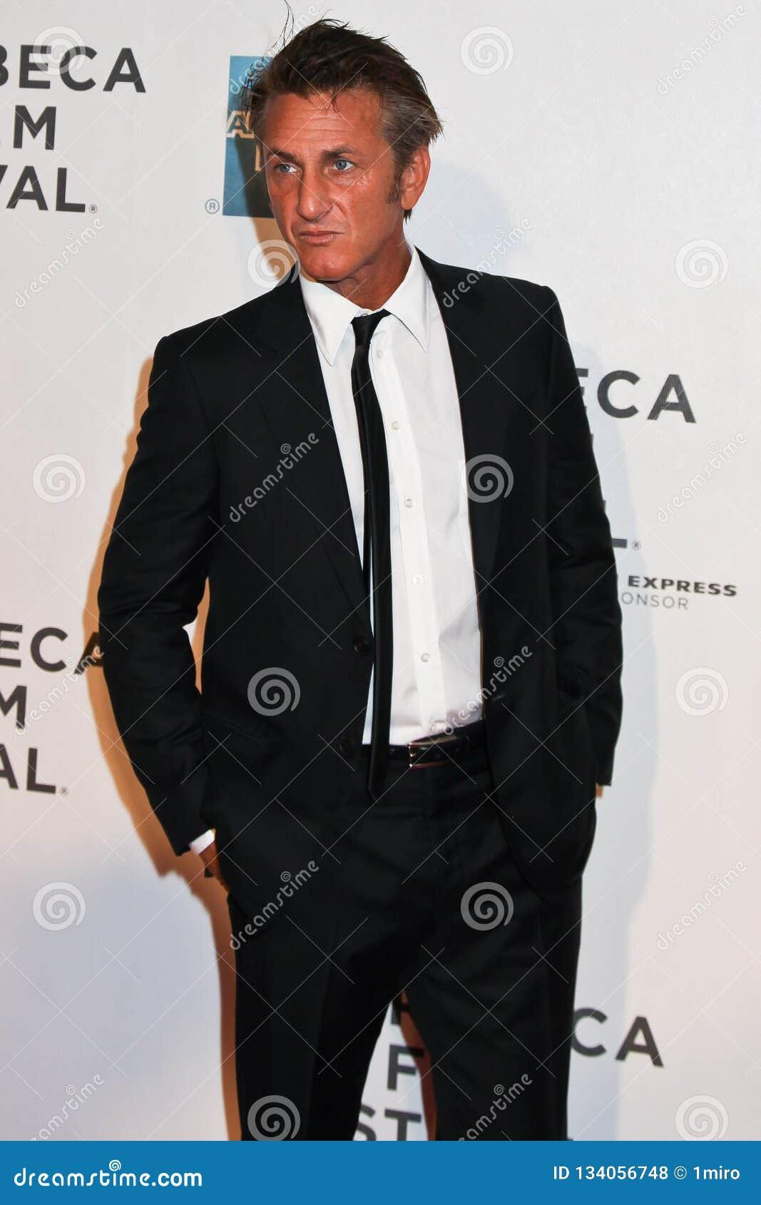 Sean Penn i New York City