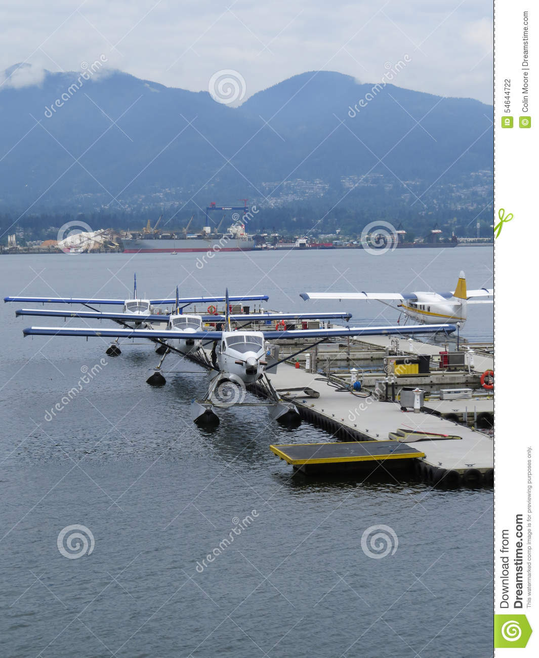 Vancouver Harbour: Seaplanes Stock Photo. Image Of Float, Plane, Seaplanes