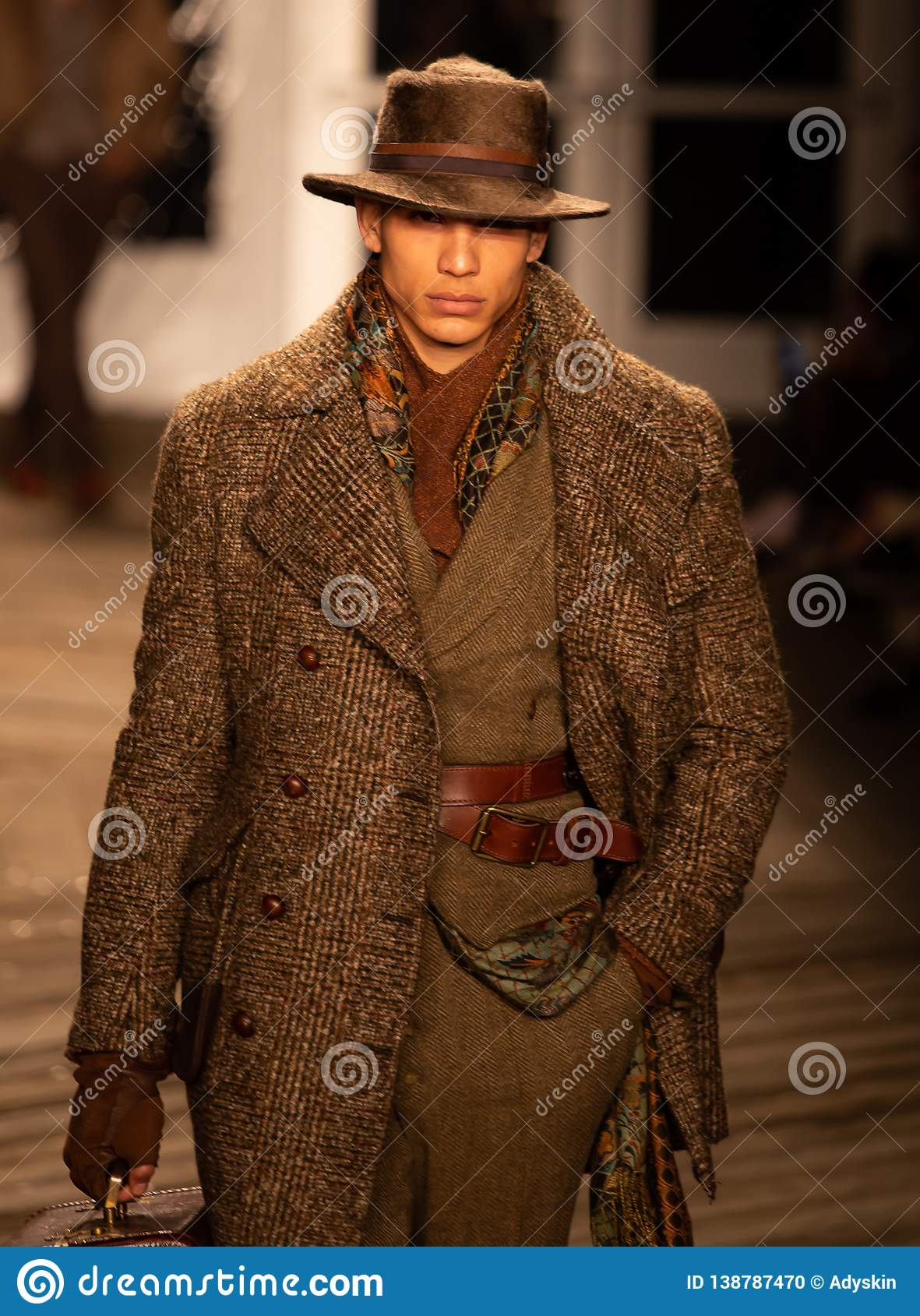 Joseph Abboud Mens Fall 2019 Fashion show as part of New York Fashion Week