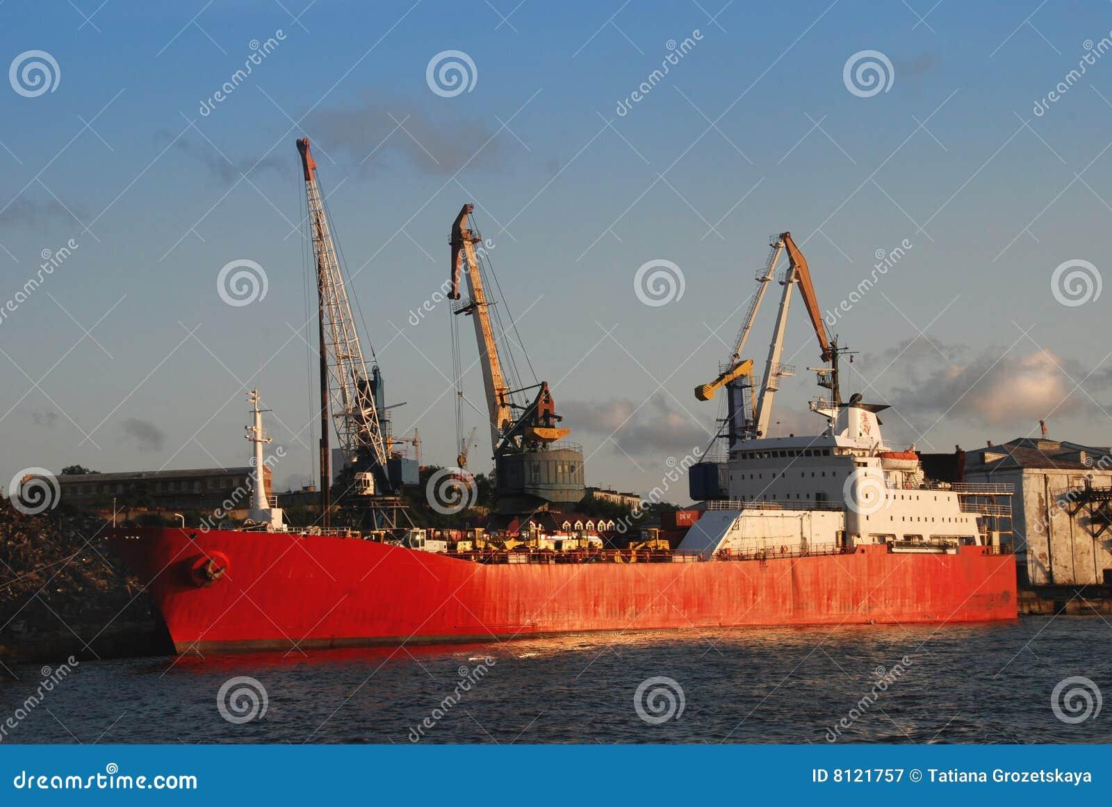Seaport vladivostok