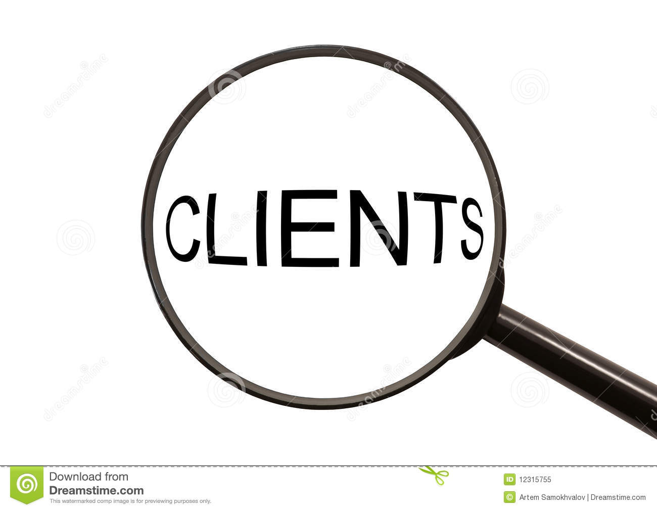Search clients