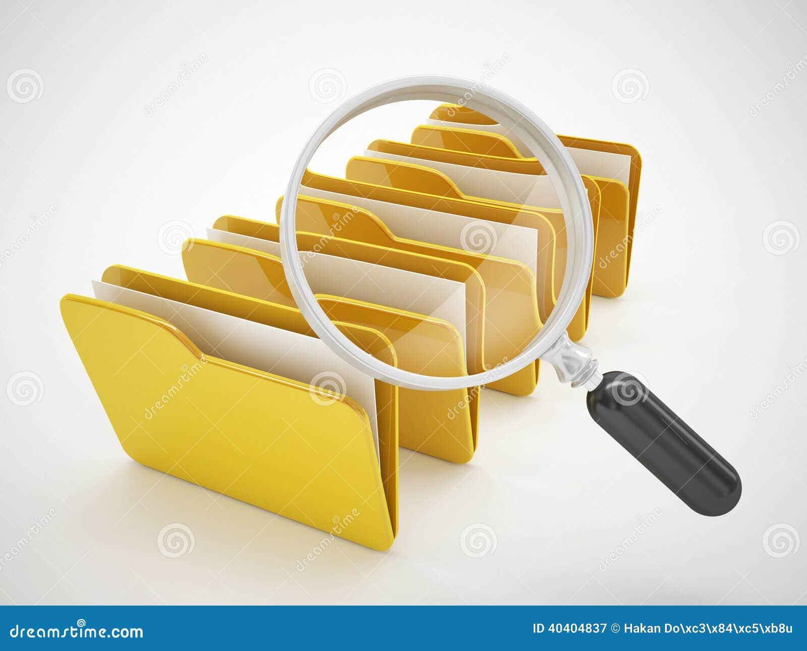 Search File Or Computer File Icon Stock Illustration - Image: 40404837