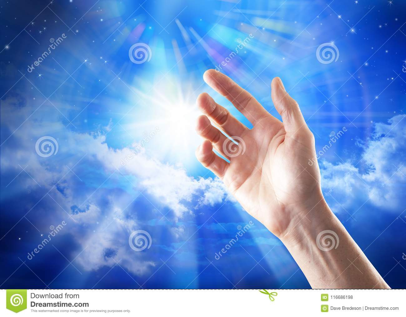 Search Spirituality Hand God Meaning Heaven