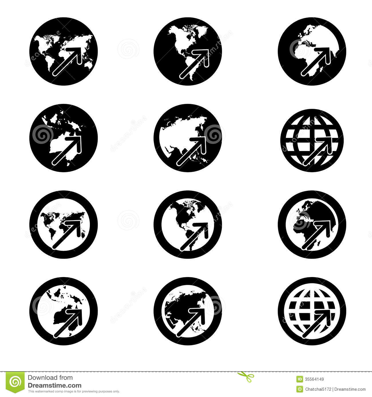 Search Iconworld Map Signvision Concept Credit Stock Vector