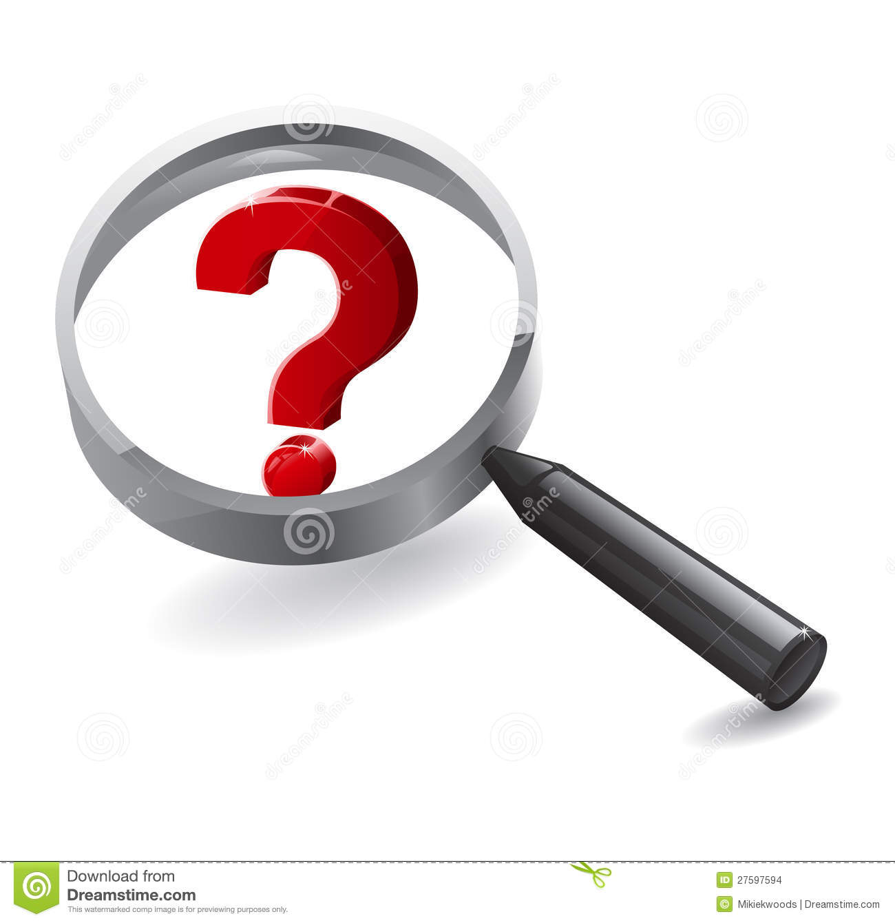 Search Magnifying Questions Stock Images - Image: 27597594: dreamstime.com/stock-images-search-magnifying-questions-image27597594