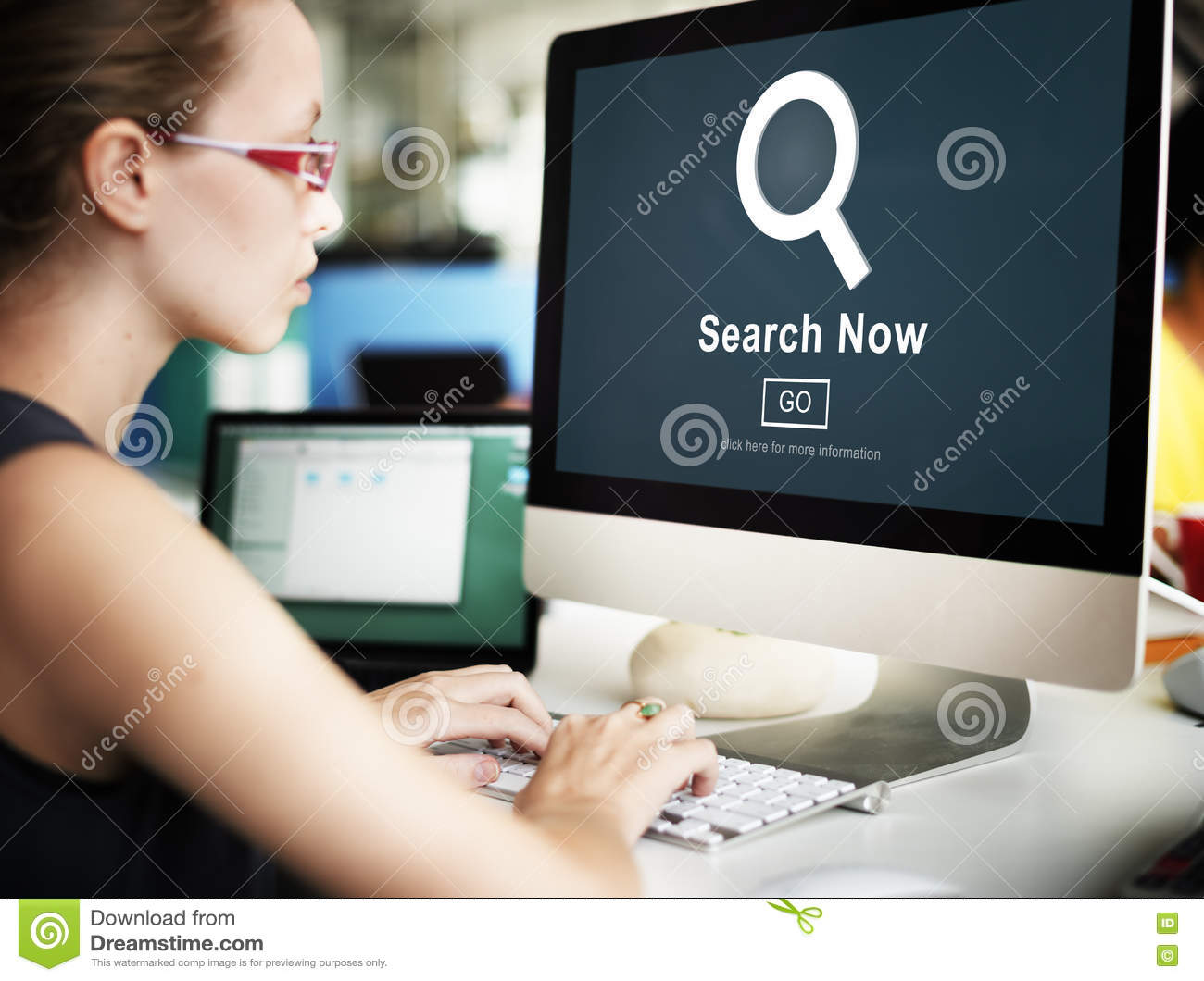 Search Now Exploration Discover Searching Finding Concept
