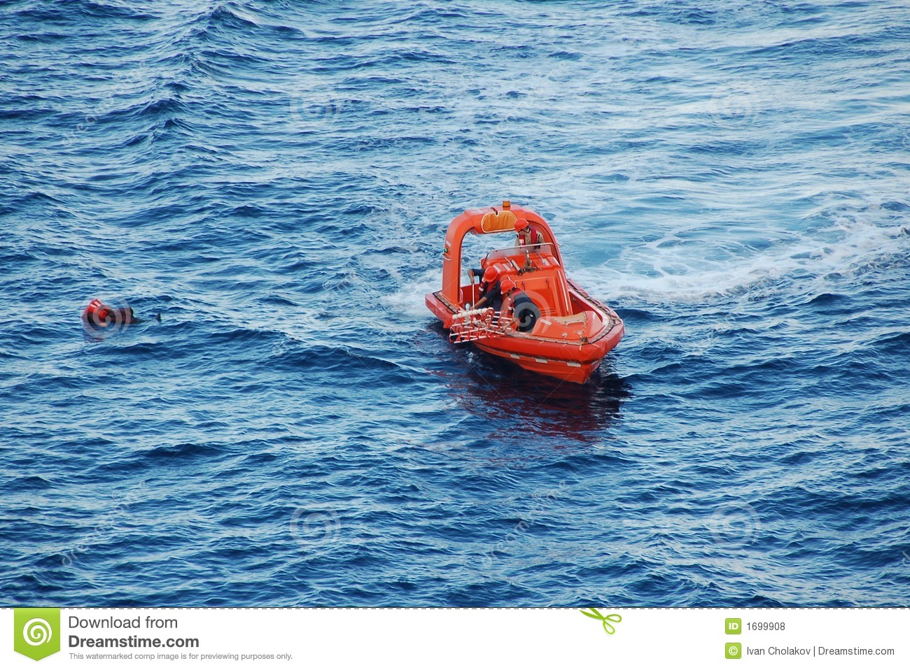 Search and rescue for man overboard