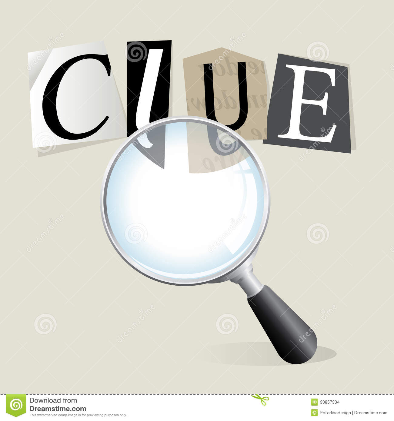 Searching For Clues Stock Images - Image: 30857304