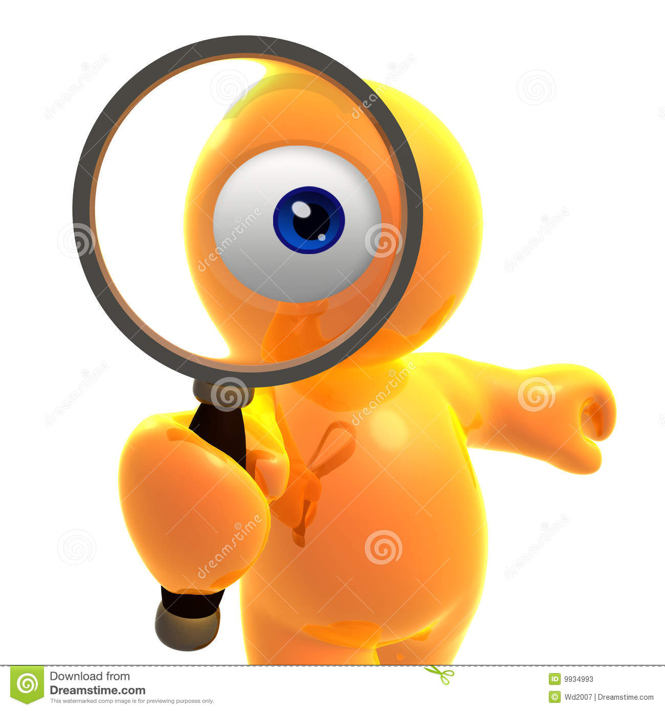 Searching Eye Icon Stock Photos - Image: 9934993