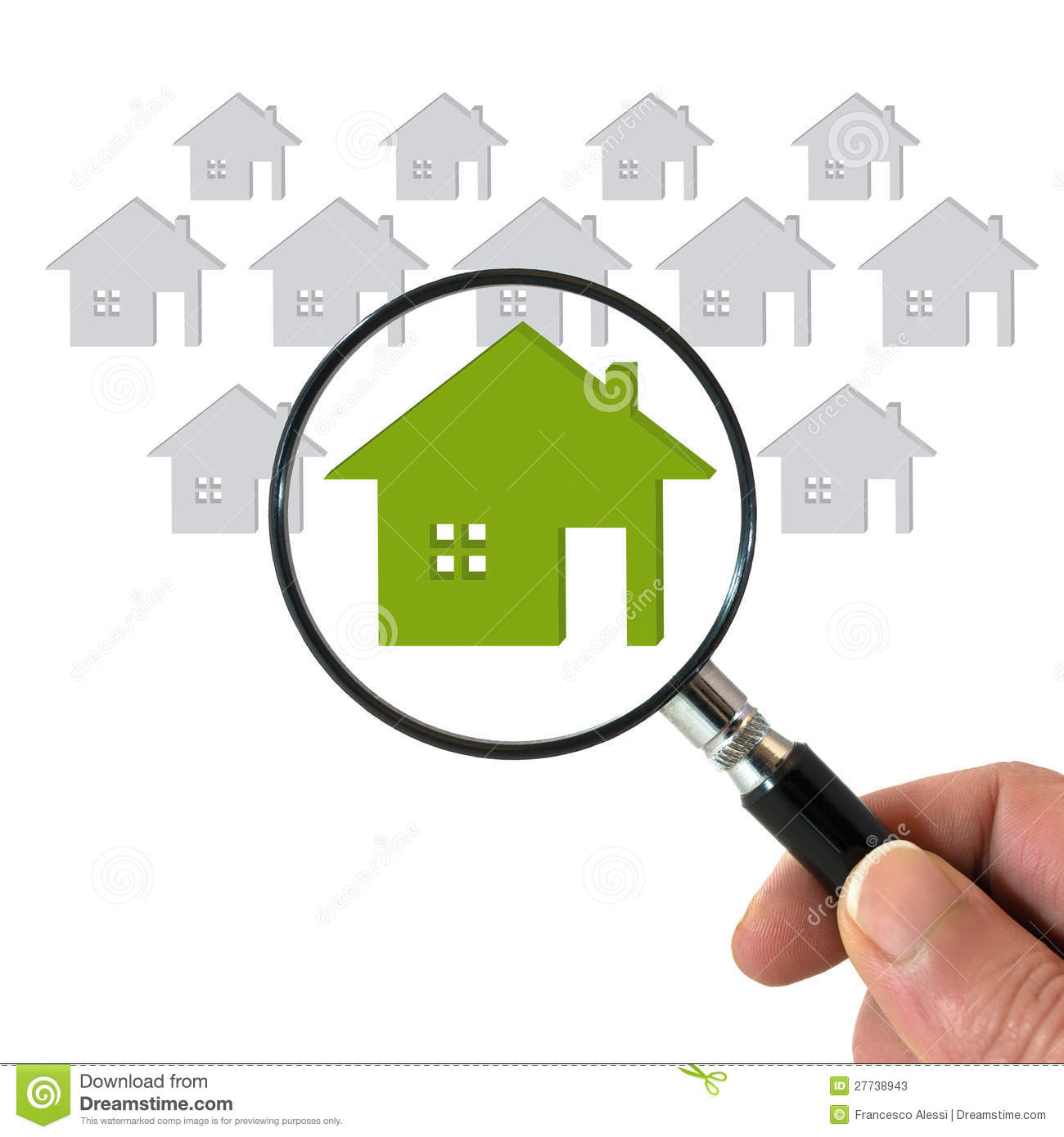 6dffcf115d03 Searching for house stock image. Image of graphic