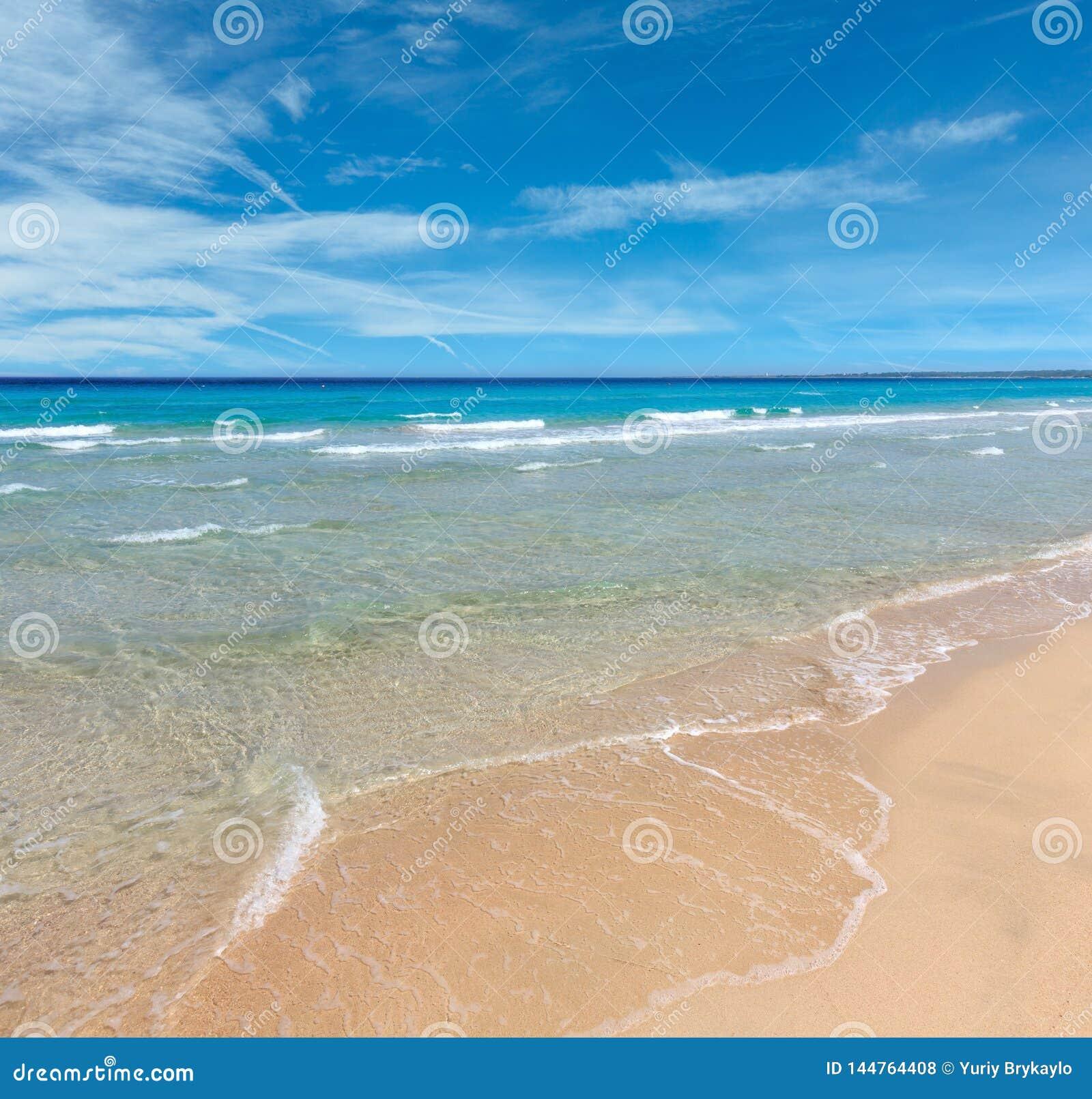 Κυματωγή θάλασσας στην παραλία