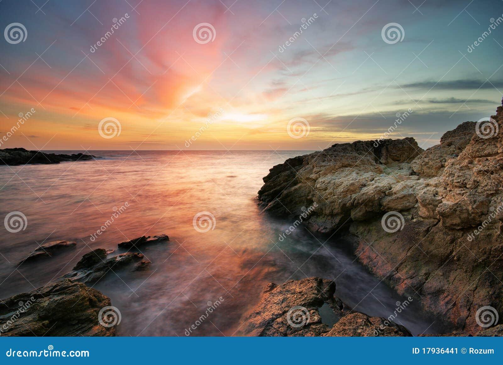 Seascape bonito.