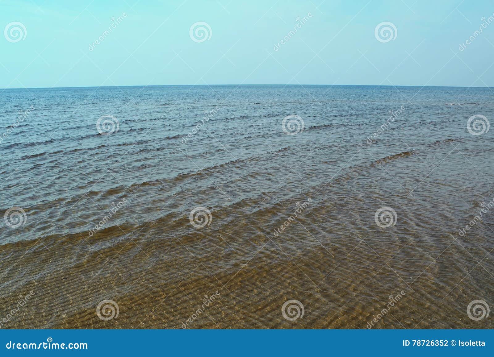 Seascape i Jurmala, Lettland