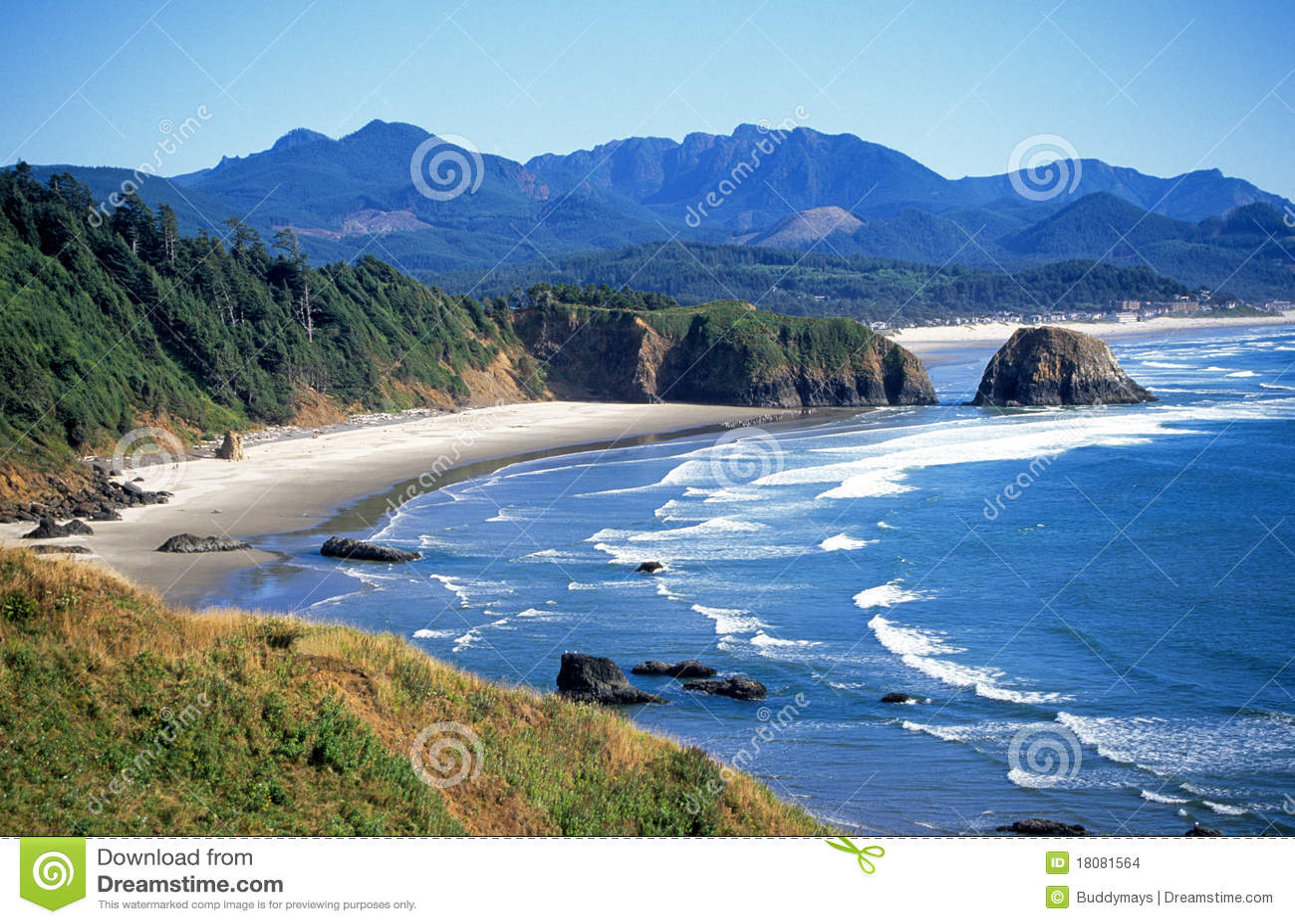 Seascape in Oregon