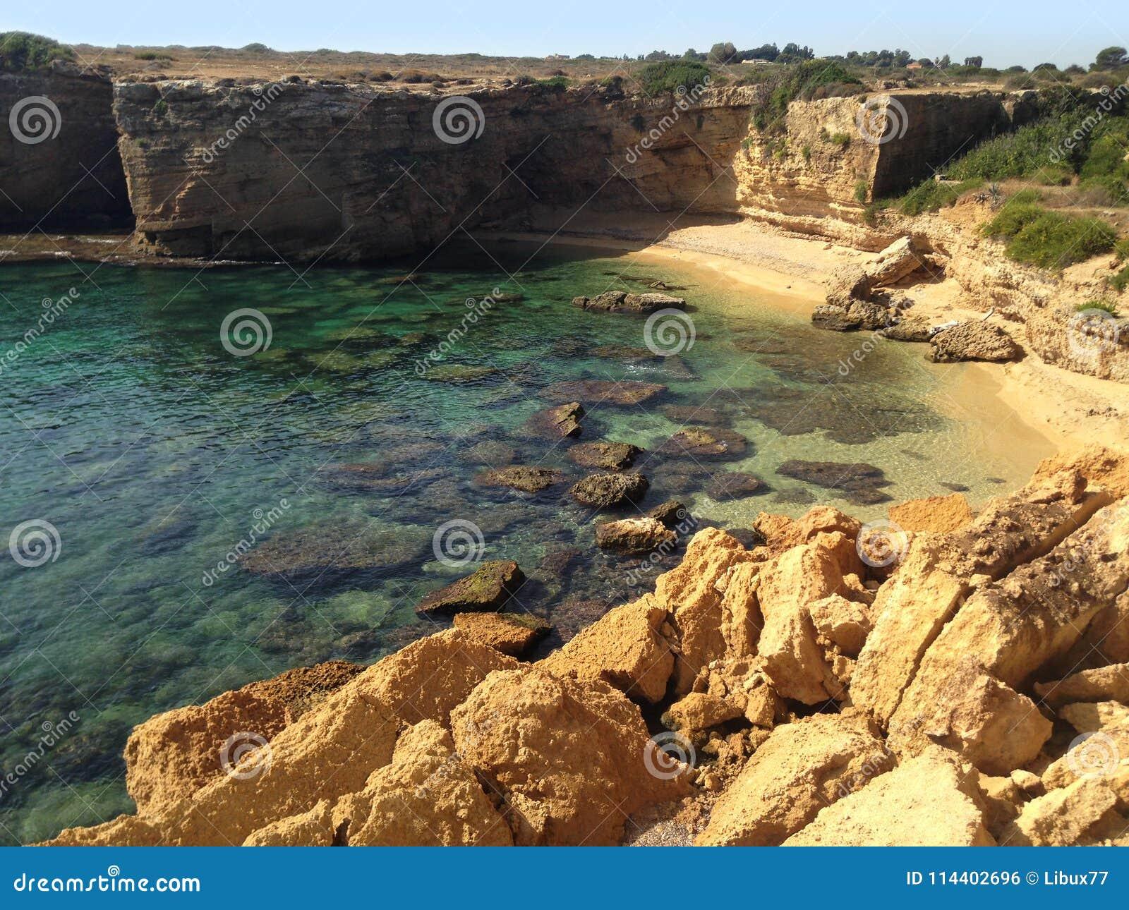 Seascape Punta Mola Sicily