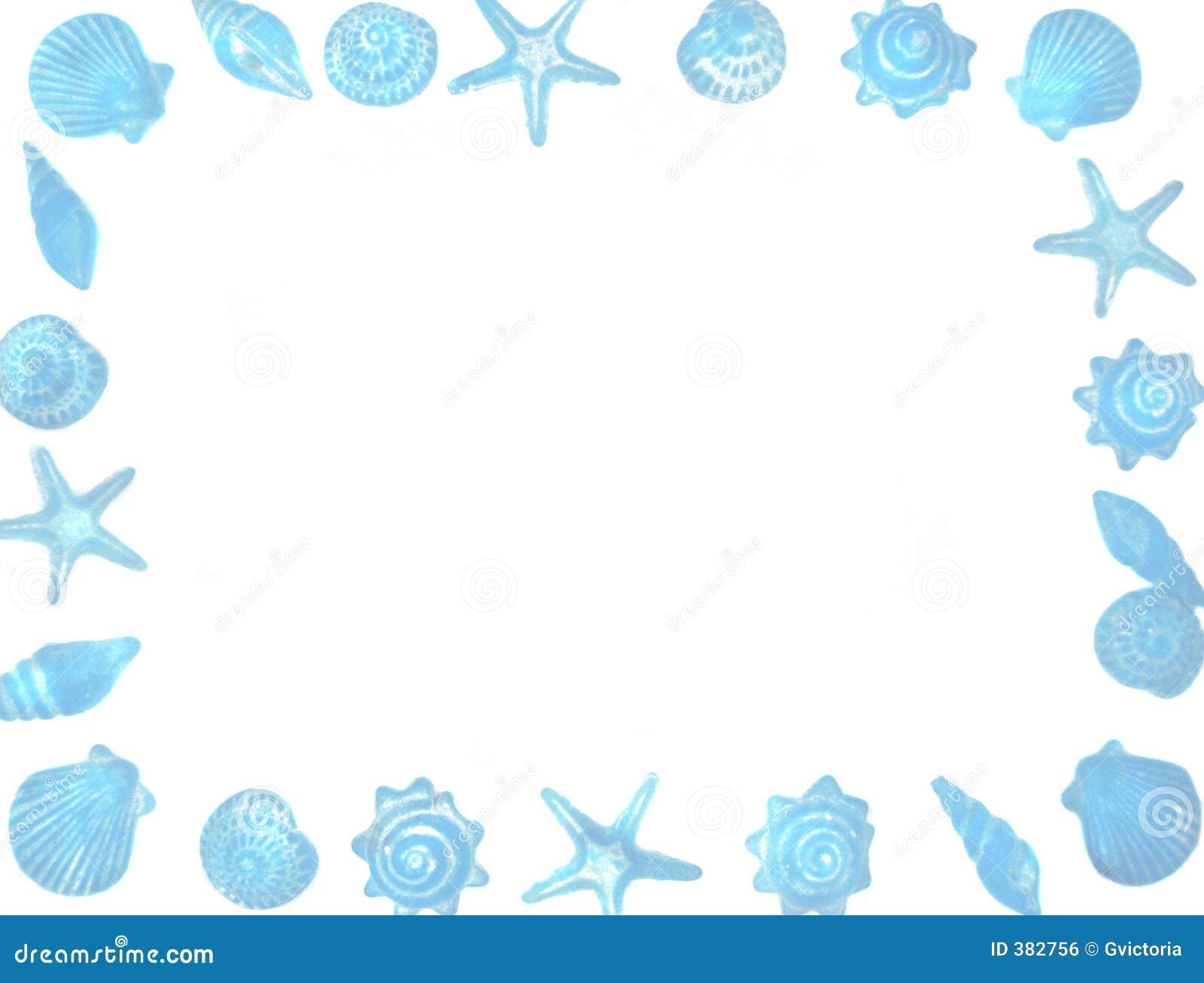 Seashell Border Royalty Free Stock Image - Image: 382756
