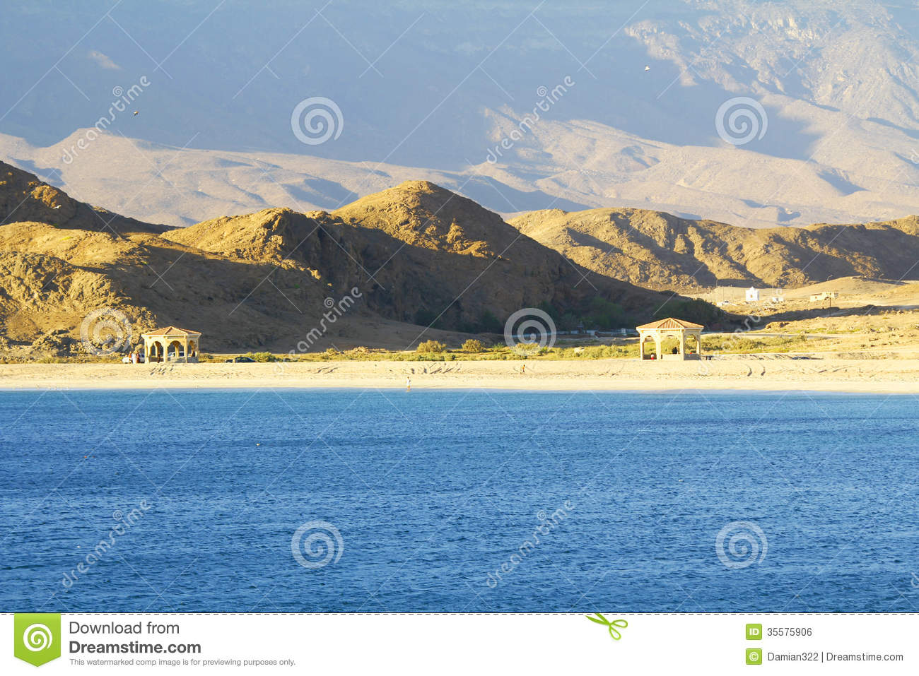 Seashore of oman mirbat landscape stock photo image for Nearby landscapers