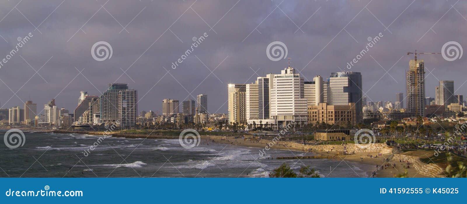 Seashore in Tel-Aviv
