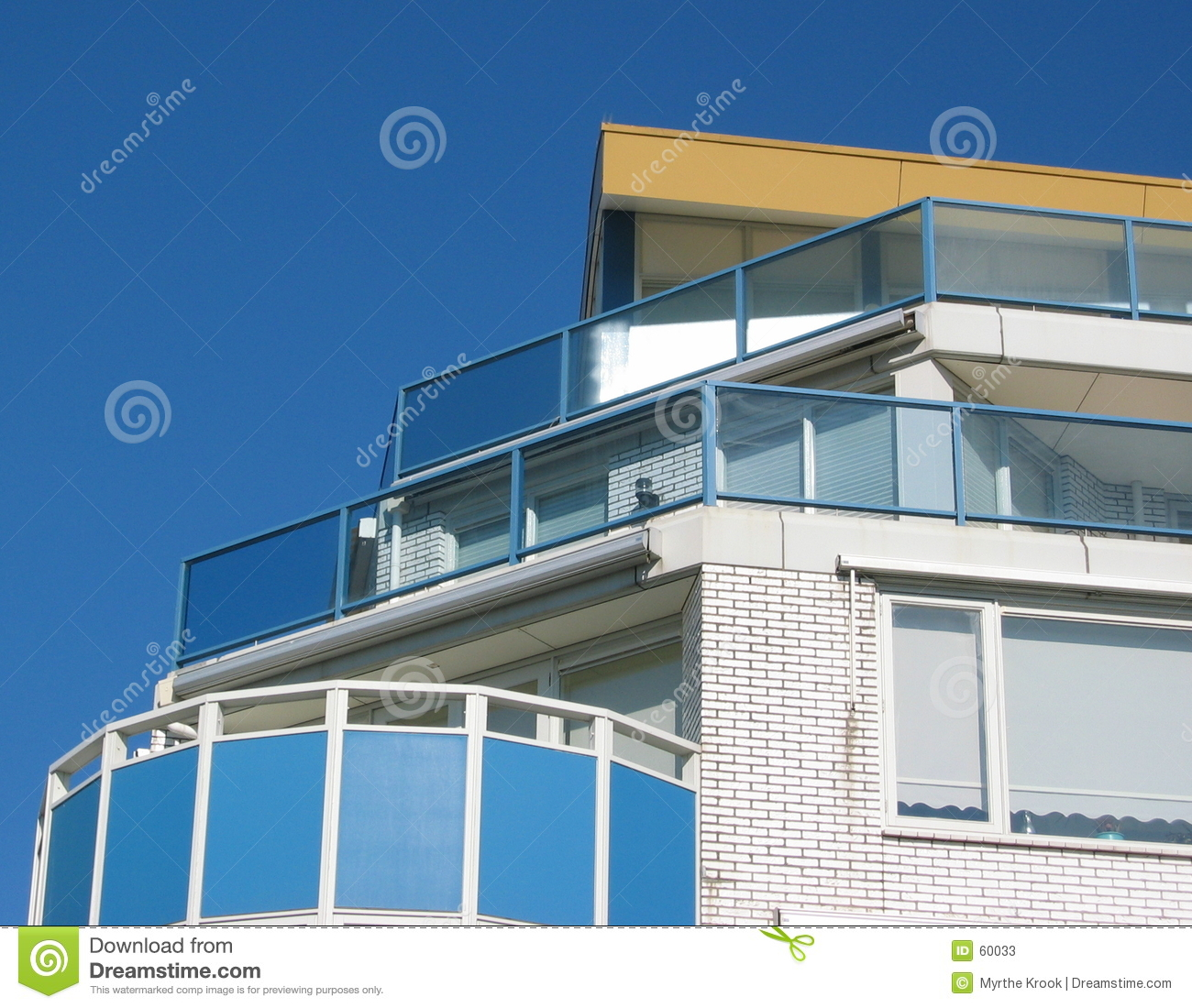 Seaside Appartment Building Stock Photos Image 60033
