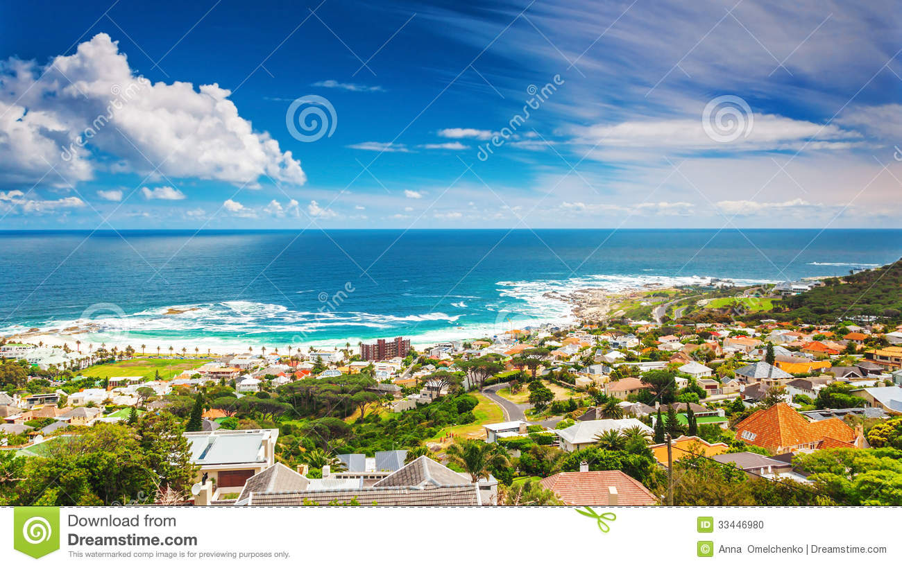 Seaside of Cape Town