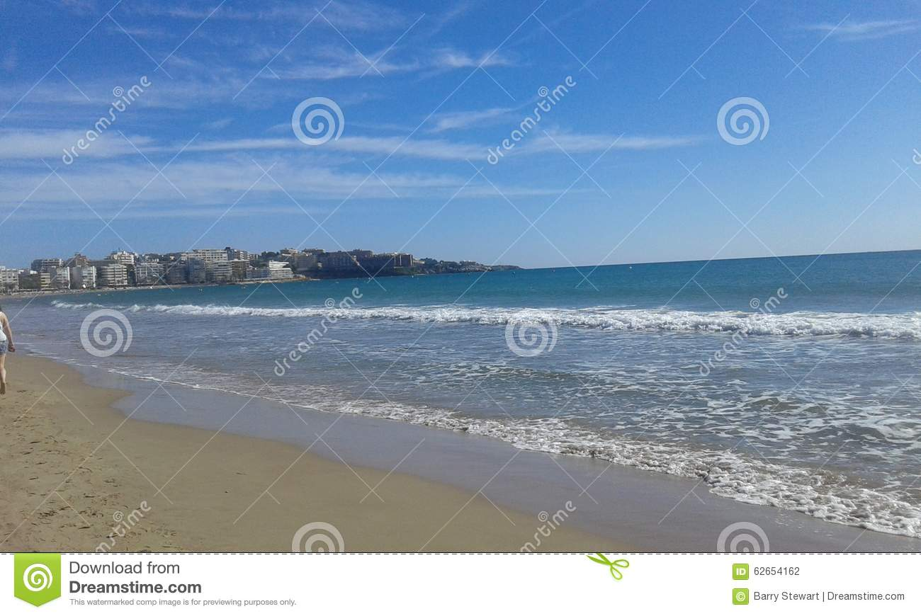 Seaside View Stock Photo Image 62654162