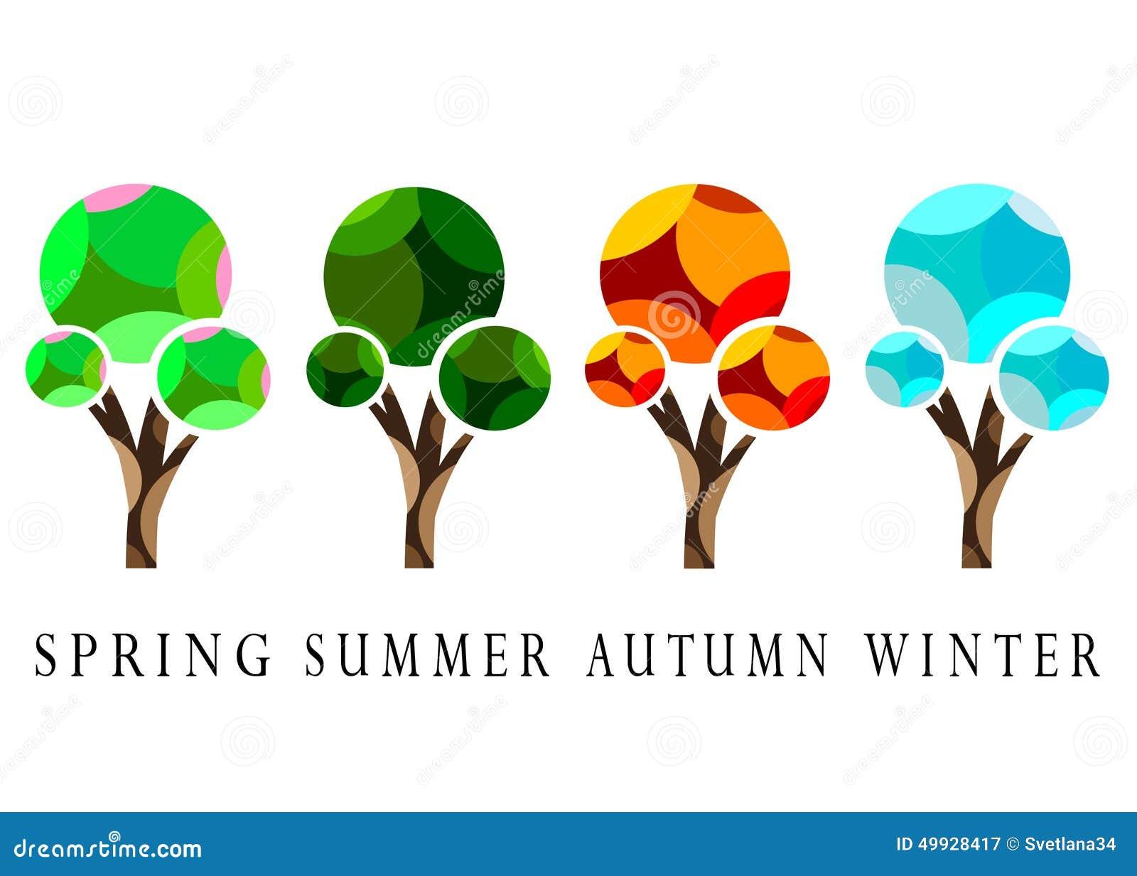 Season. stock vector. Illustration of backdrop, background