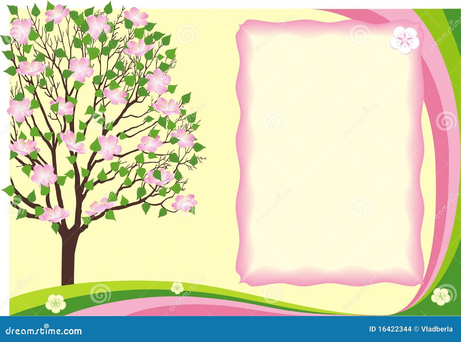 Season Flower Spring Border Stock Images Image 16422344