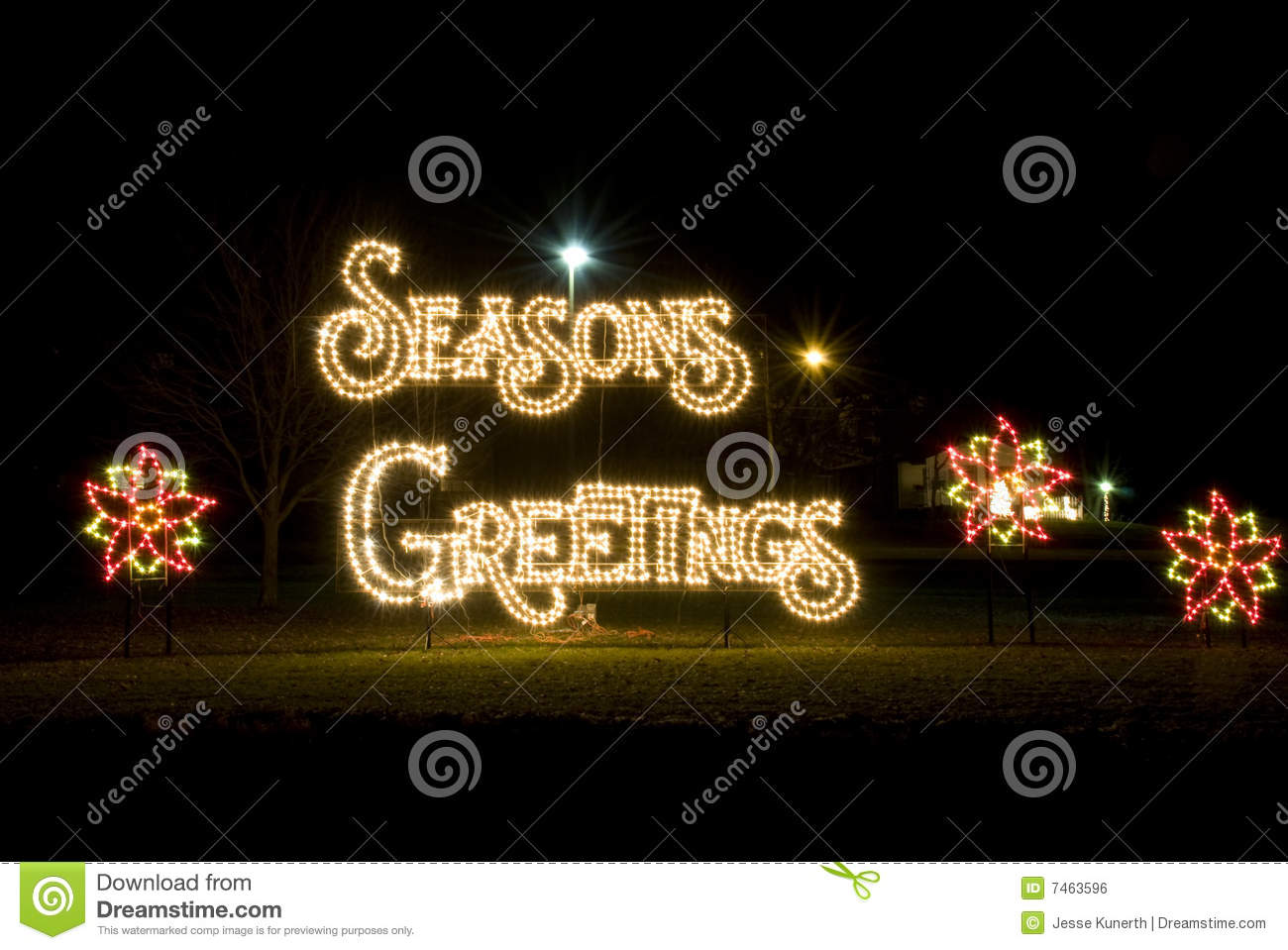 Season greetings christmas lights stock photo image of christmas season greetings christmas lights royalty free stock photo m4hsunfo