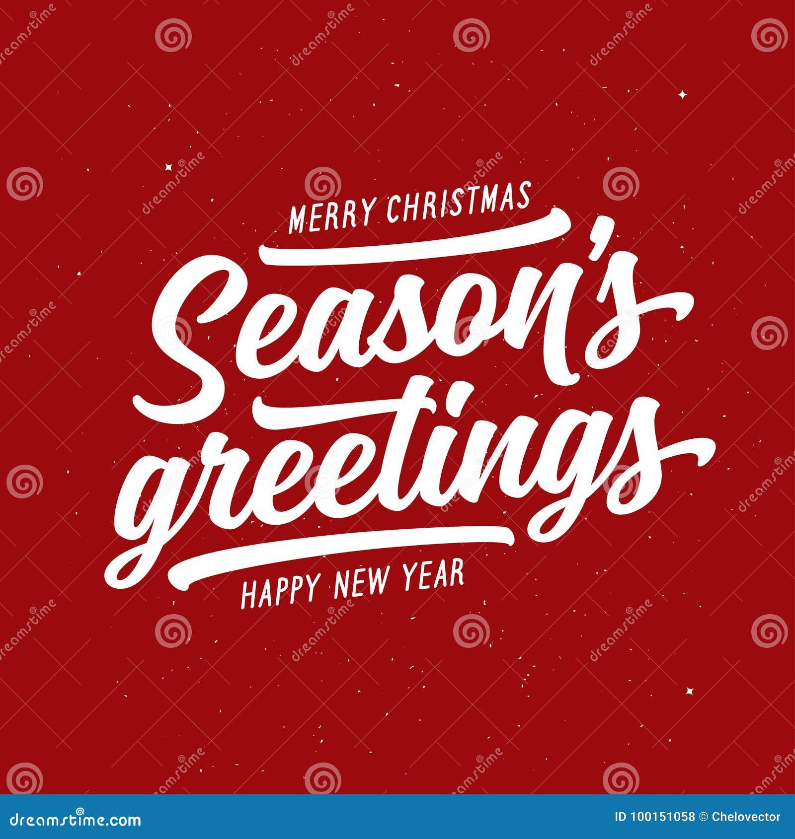 Season greetings typography composition vector vintage illustration download season greetings typography composition vector vintage illustration stock vector illustration of greetings m4hsunfo