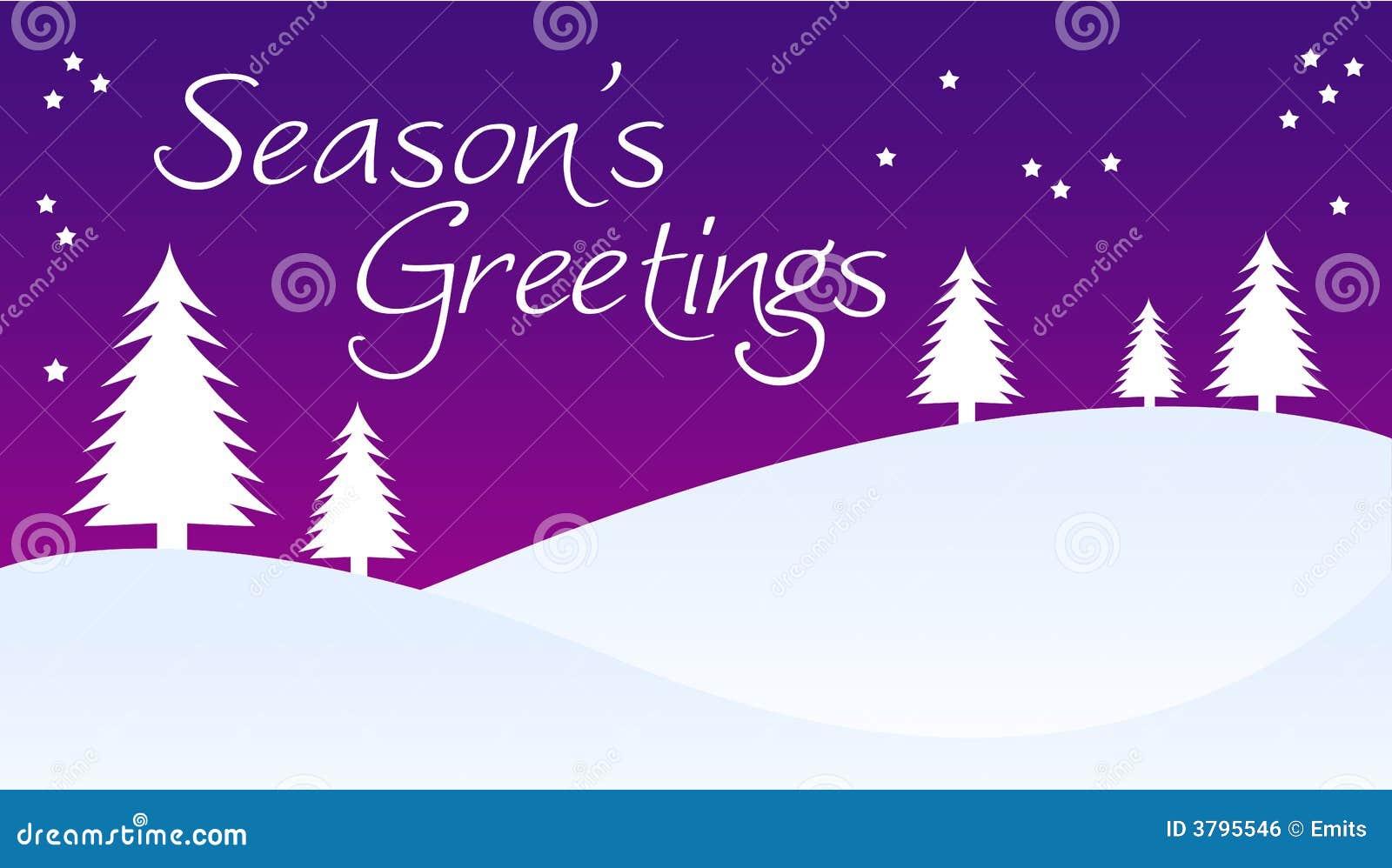Seasons Greetings Stock Illustration Illustration Of Scene 3795546