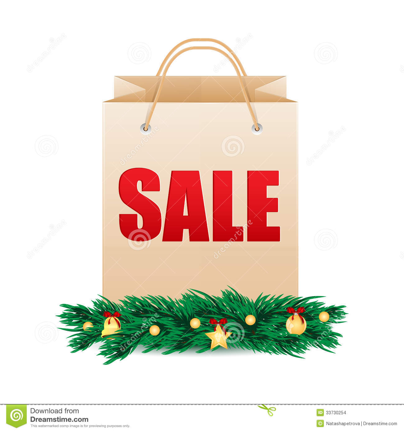 Seasonal christmas sale stock images image 33730254 for Another word for christmas decoration