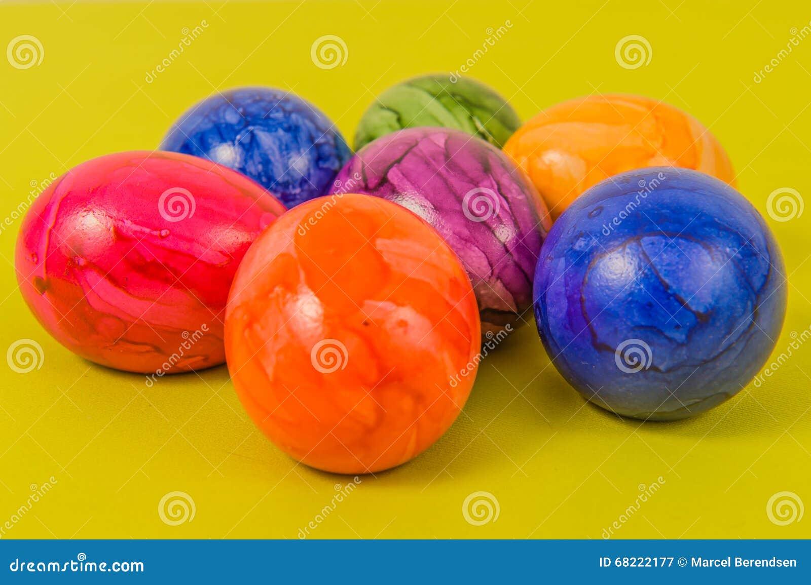 Seasonal - Easter - Coloured Eggs