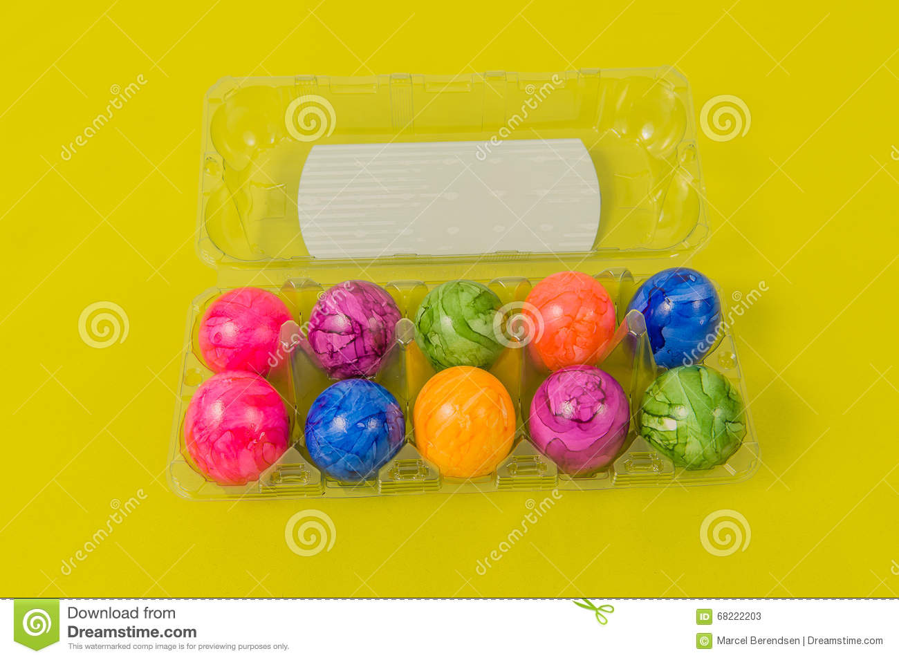 Seasonal - Easter - Coloured Eggs