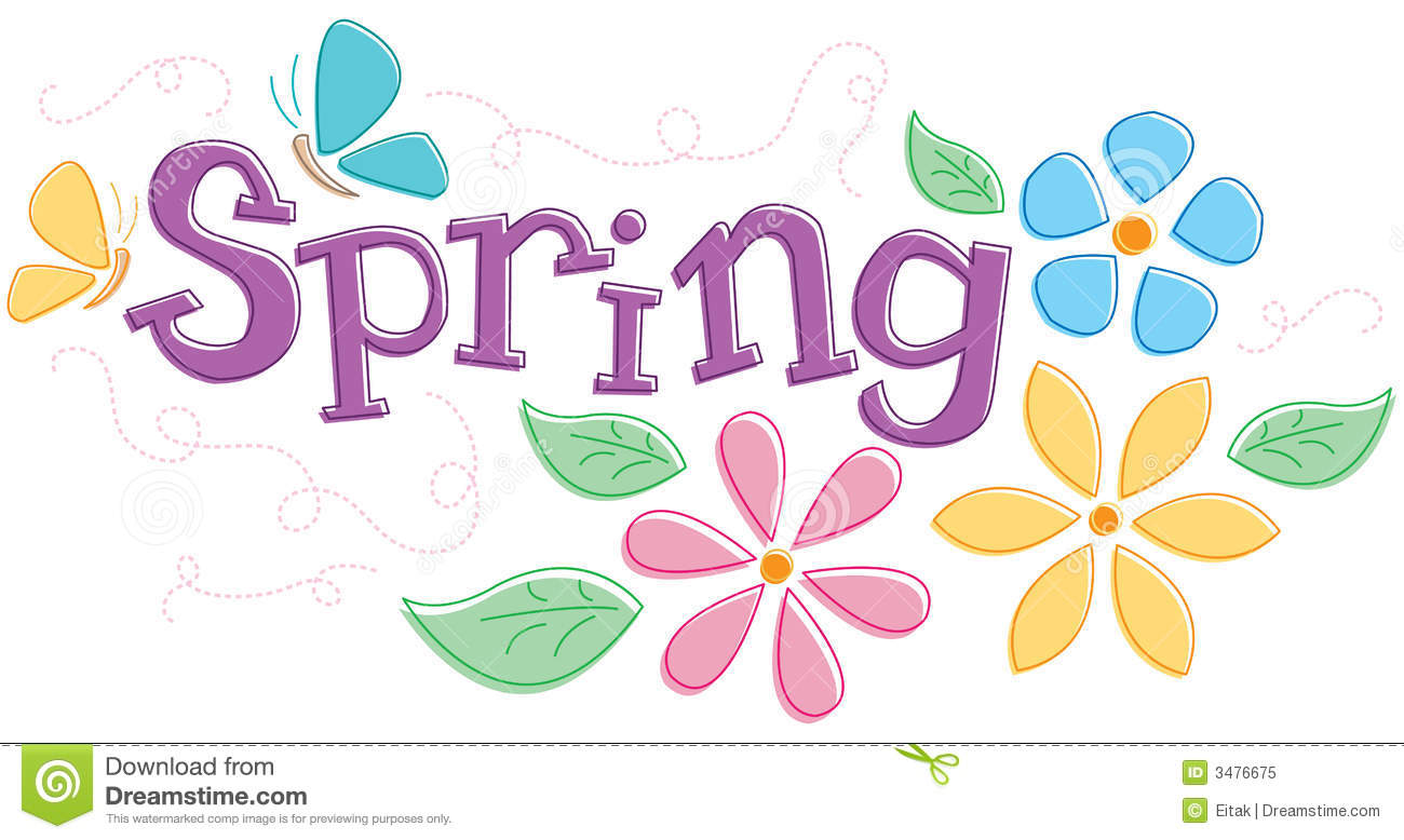 Seasonal Spring Graphic Royalty Free Stock Photo  Image: 3476675