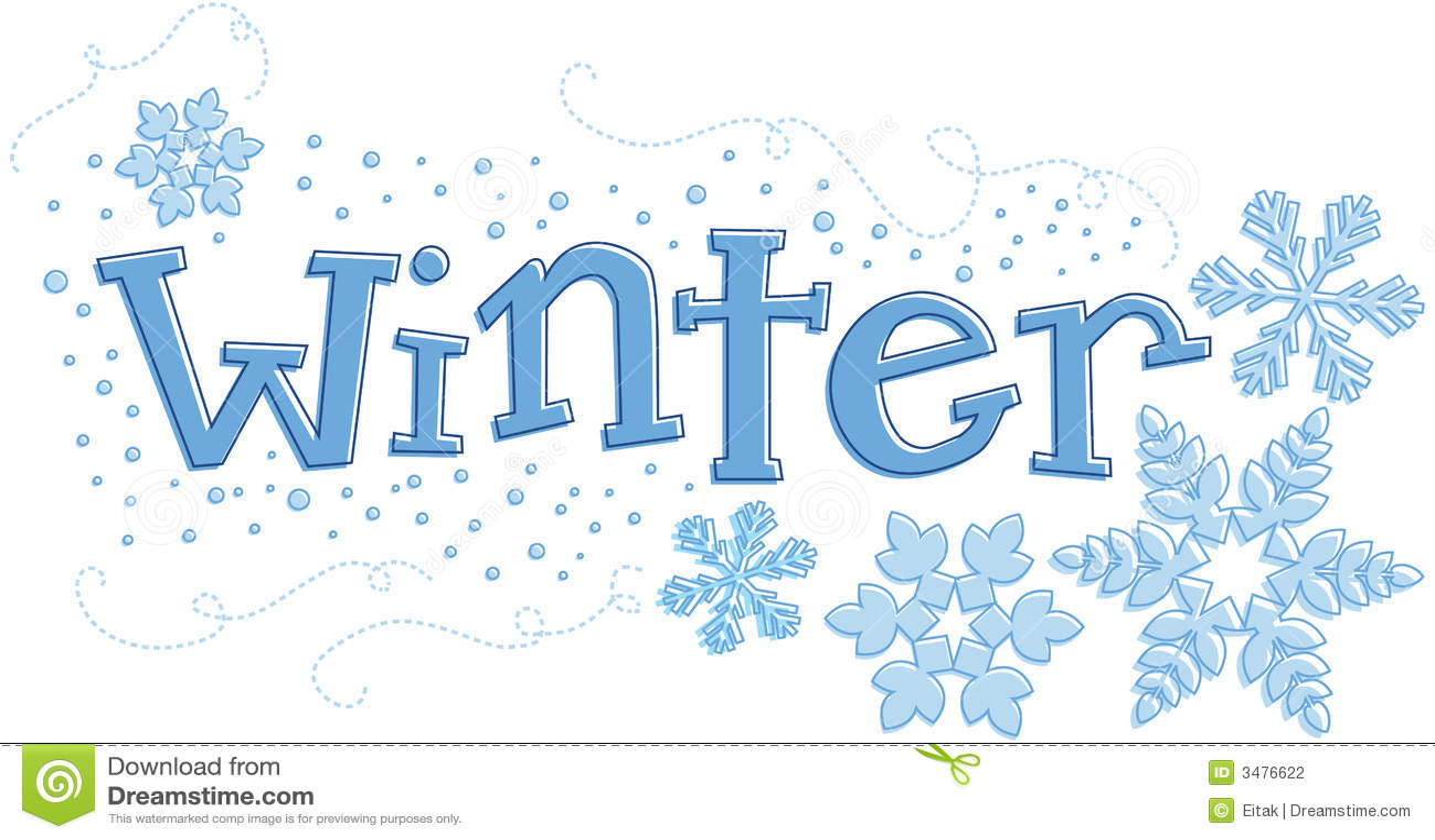Seasonal Winter Graphic Stock Photography - Image: 3476622