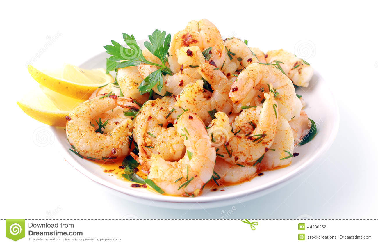 Savory Shrimp with Fresh Herbs