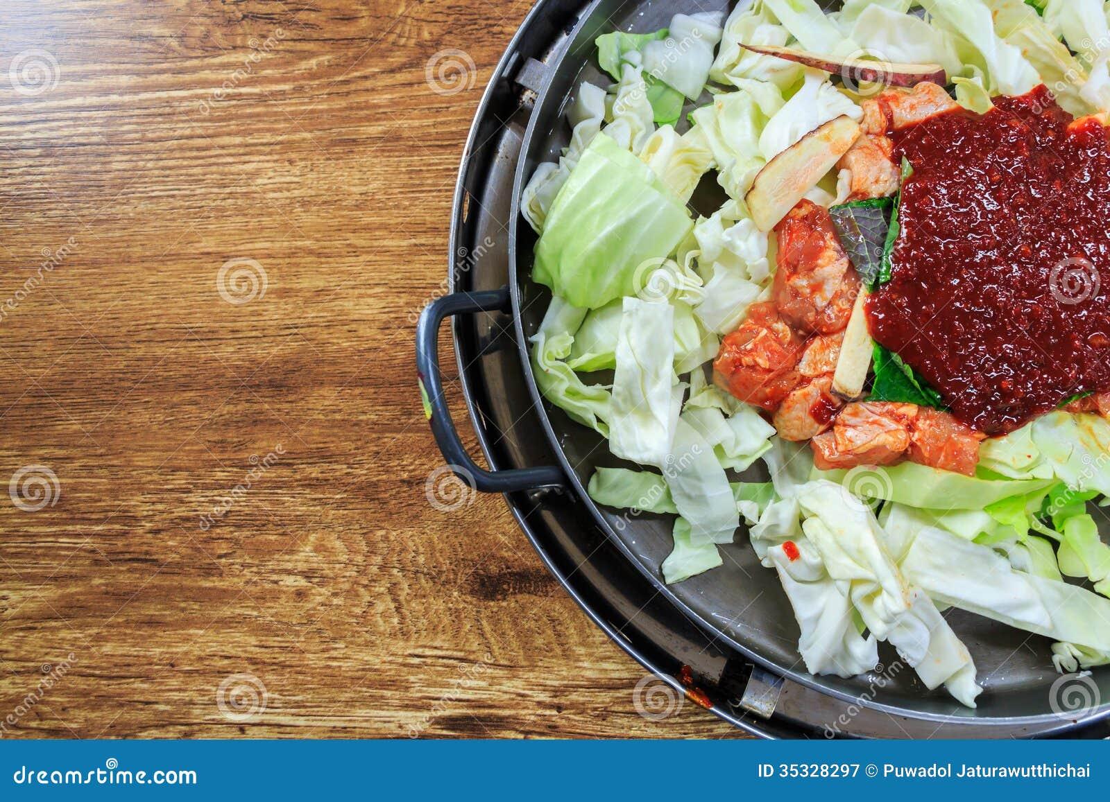 Seasoning Of Korean Food Stock Image Image Of Cook